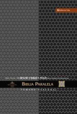 Biblia paralela. Tamaño manual. Tapa dura - RVR60/NVI