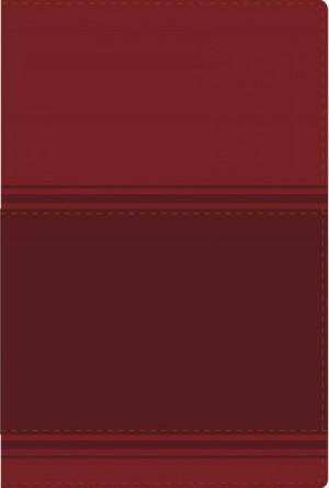 Biblia lectura fácil. Letra grande. 2 tonos. Rojo - NVI