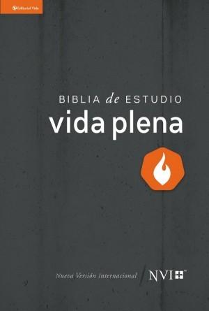 Biblia de estudio vida plena. Tapa dura - NVI