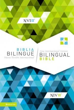 Biblia bilingüe. Imitación piel. Negro - NVI/NIV