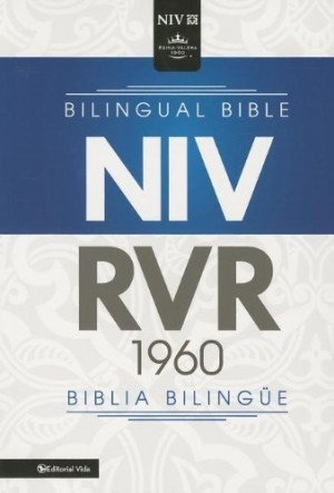 Biblia bilingüe. Imitación piel. Negro - RVR60/NIV