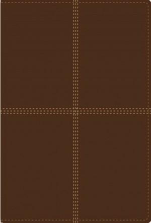 Biblia bilingüe. 2 tonos. Marrón - RVR60/NIV