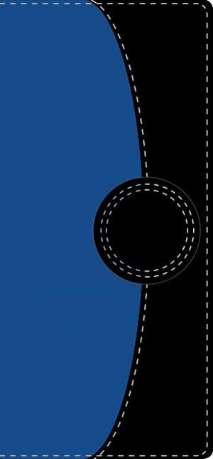 Biblia contorno fino. 2 tonos. Azul/negro - NVI