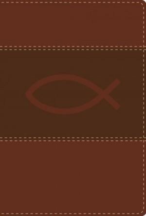 Biblia ultrafina. Compacta. 2 tonos. Marrón - RVR77