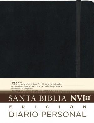 Biblia edición diario personal. Tapa dura. Negro - NVI