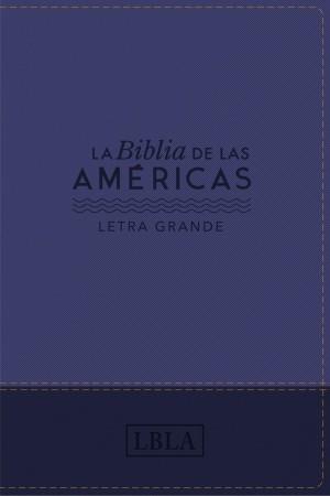 Biblia manual. Letra grande. 2 tonos. Violeta - LBLA