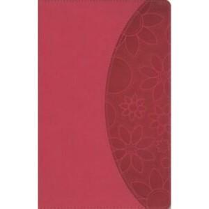 Biblia manual. Ultrafina. 2 tonos. Rosa - NVI