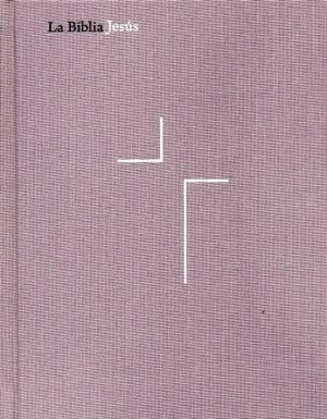 Biblia Jesús. Tapa dura entelada. Lavanda - NVI