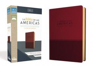 Biblia compacta. Ultrafina. 2 tonos. Rojo - LBLA
