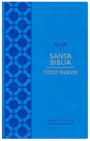 Biblia Todo nuevo. 2 tonos. Azul - NVI