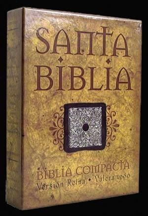 Biblia compacta. Piel especial. Negro - RVR60