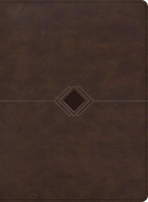 Biblia cronológica, La. 2 tonos. Marrón - RVR60