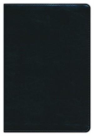 Biblia de estudio arco iris. Imitación piel. Negro - RVR60