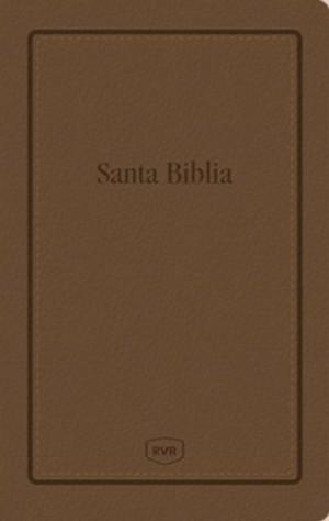 Biblia manual. Letra grande. Imitación piel. Marrón - RVR77
