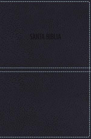Biblia de premio y regalo. Imitación piel. Azul. Cremallera - RVR77