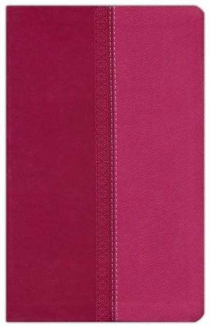 Biblia manual. Ultrafina. 2 tonos. Rosa - RVR77
