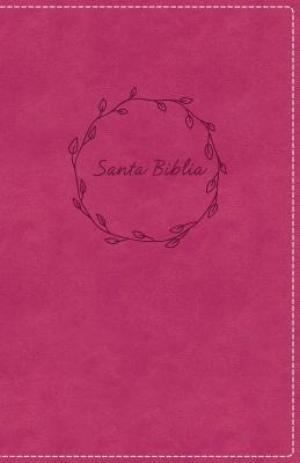 Biblia compacta. Ultrafina. 2 tonos. Rosa - RVR77