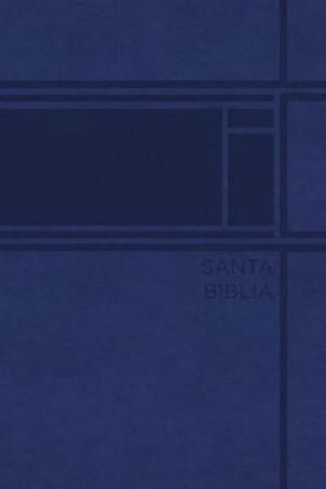 Biblia compacta. Ultrafina. 2 tonos. Azul - RVR77