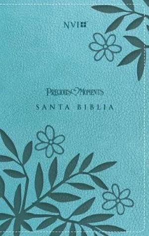 Biblia Precious moments. 2 tonos. Turquesa - NVI