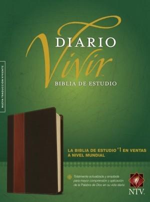 Biblia de estudio del diario vivir. 2 tonos. Marrón. Índice - NTV