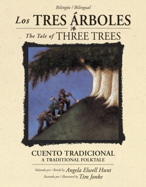 Tres árboles, Los. Bilingüe
