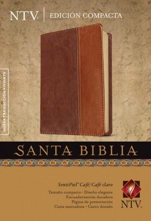 Biblia compacta. 2 tonos. Marrón - NTV