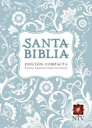 Biblia compacta. Imitación piel. Azul claro - NTV