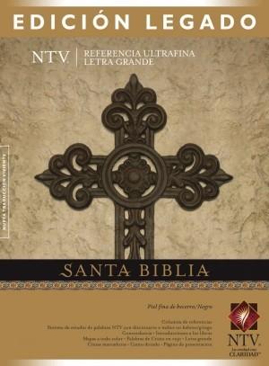 Biblia edición legado. Letra grande. Ultrafina. Piel legítima. Negro - NTV