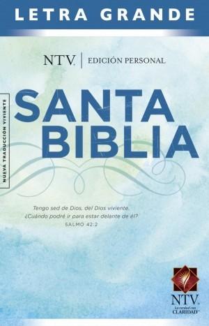 Biblia edición personal. Letra grande. Tapa dura - NTV