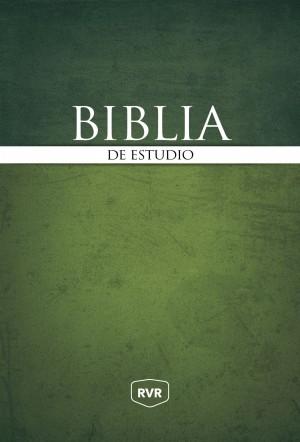 Biblia de estudio RVR. Tapa dura - RVR77