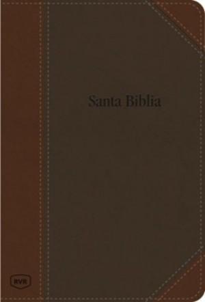 Biblia grande. Edición contemporánea. 2 tonos. Marrón - RVR77