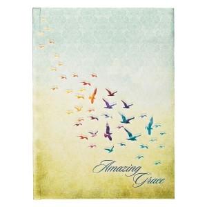 Diario Amazing Grace. Tapa dura. Pájaros
