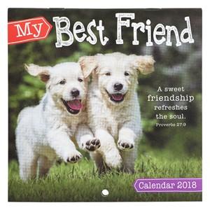 Calendario 2018 My best friend
