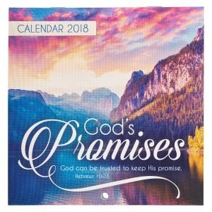 Calendario 2018 God's Promises