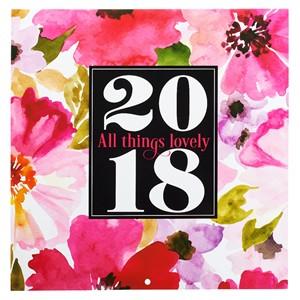 Calendario 2018 All things lovely