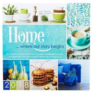Calendario 2018 Home…Where our story begins