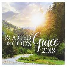Calendario 2018 Rooted in God's Grace