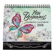 Calendario 2018 New beginnings