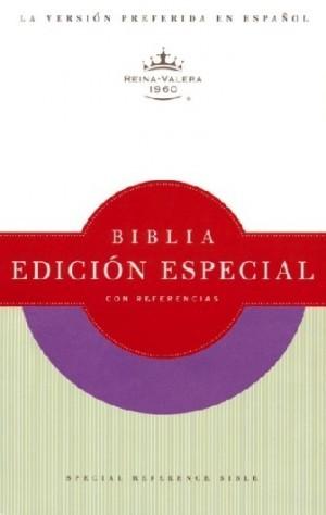 Biblia edic. especial referencias. Imitación piel. Morado - RVR60
