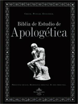 Biblia de estudio apologética. Tapa dura. Negro. Índice - RVR60
