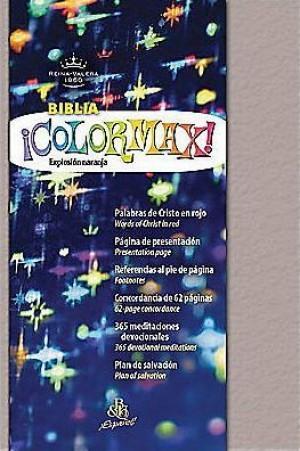 Biblia colormax. Imitación piel. Platino efervescente - RVR60