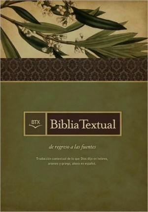 Biblia textual. Tapa dura. Negro. Índice - BT