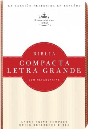 Biblia compacta referencias. Letra grande. Imitación piel. Topacio - RVR60
