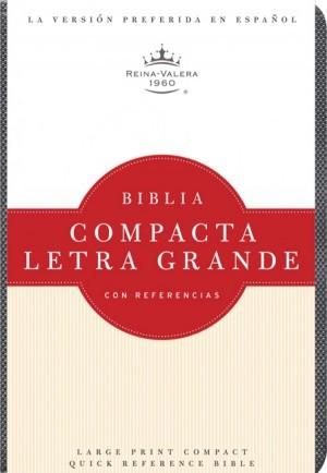 Biblia compacta referencias. Letra grande. Imitación piel. Cuarzo - RVR60