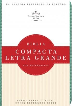 RVR 1960 Biblia Compacta Letra Grande, turquesa imitación piel