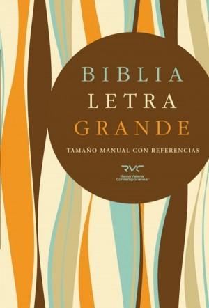 RVC Biblia Letra Grande Tamaño Manual, tapa dura