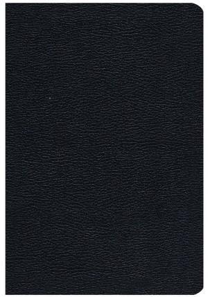 Biblia manual. Letra grande. Imitación piel. Negro - RVC