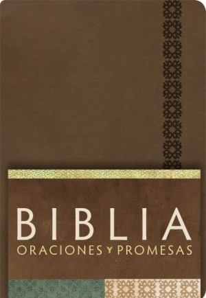 RVC Biblia Oraciones y Promesas - Canela símil piel