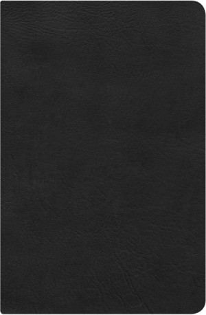 RVR 1960 Biblia del Pescador, negro piel genuina