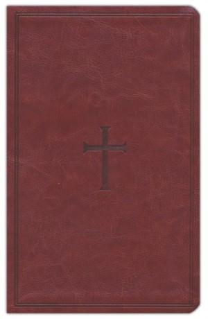 Biblia manual. Ultrafina. 2 tonos. Marrón. Índice - KJV (inglés)
